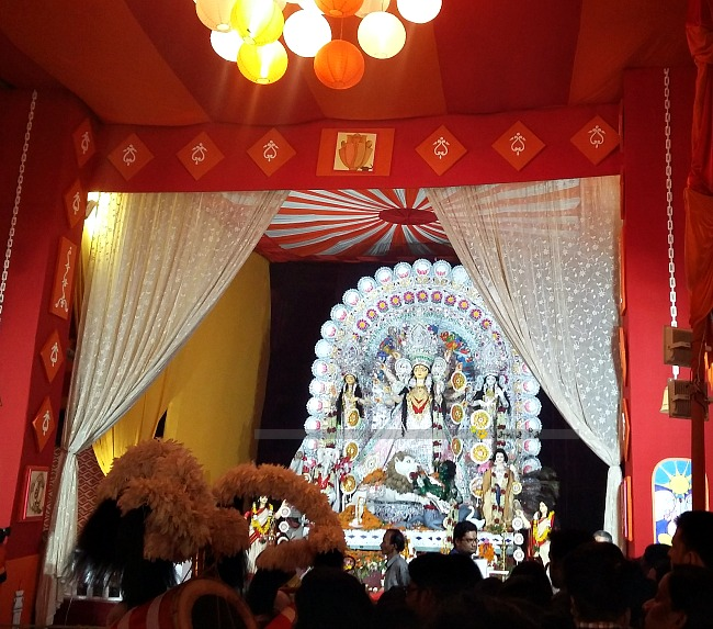 Durga puja 2016 journey of my life civil line durga puja minimal decor yet beautiful altavistaventures Choice Image